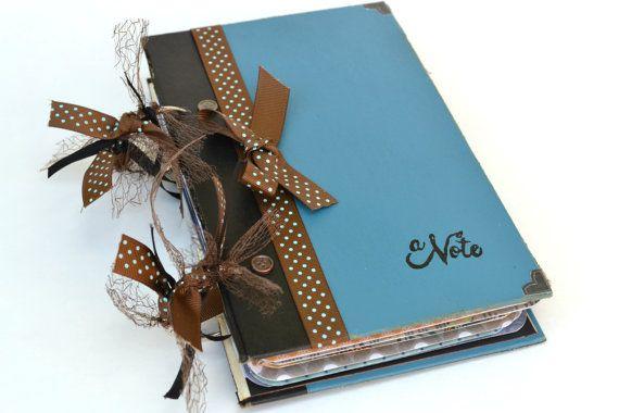 Travel Journal Junk Journal Diary Writing by ArtistsCornerShop