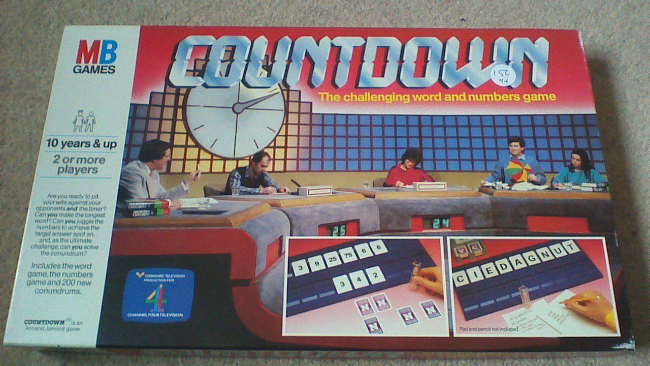Countdown vintage board game richard whiteley amazon