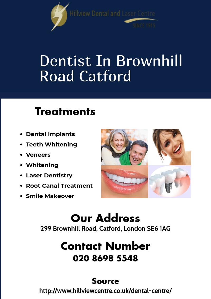 Hillview Dental Practice Catford dentistlondon