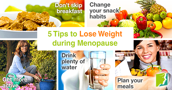 best diet plan to lose weight during menopause