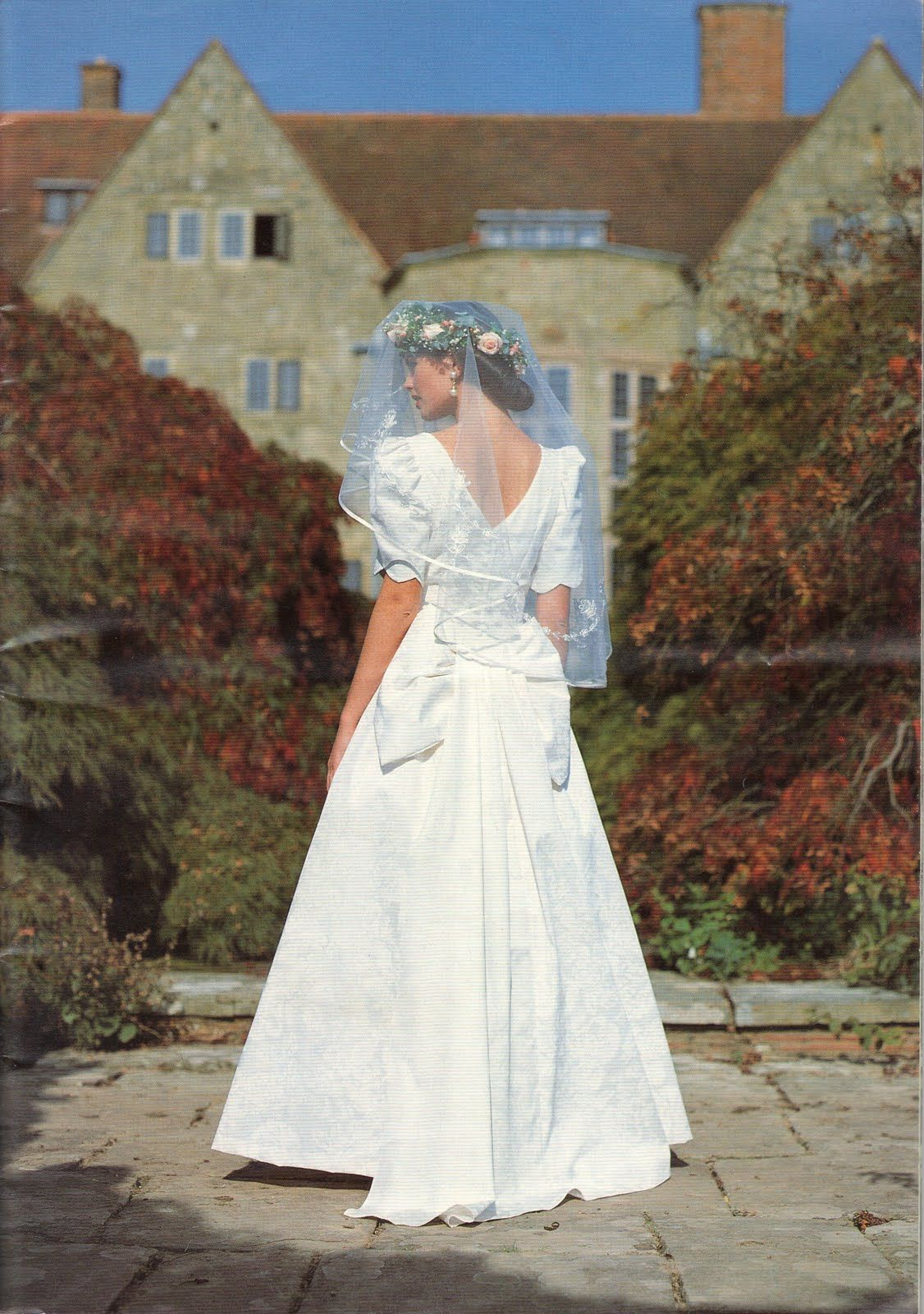 Spriggs Florist Wedding Flowers For Laura Ashley Circa 1993 Laura Ashley Wedding Dress Laura Ashley Fashion Laura Ashley Dress
