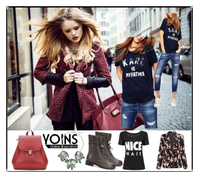 """Yoins"" by fashion-dream-godess ❤ liked on Polyvore featuring MustHave, fall2015 and yoins"