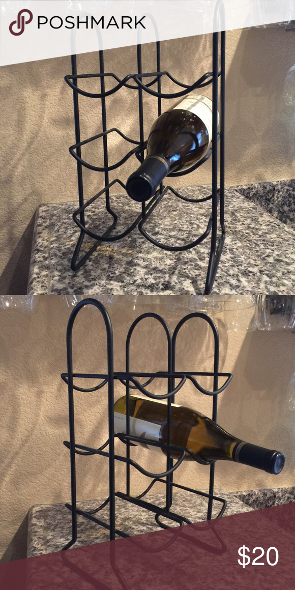 Wine rack Holds 6 bottles Other