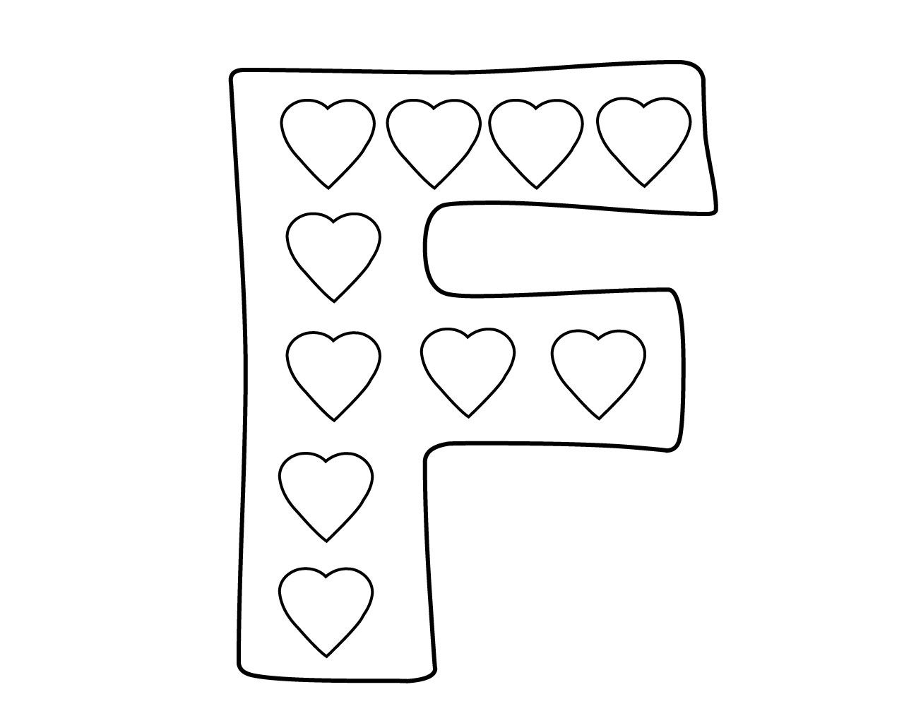 Letter F is for Fire Truck coloring page | Free Printable Coloring ... | 1024x1280