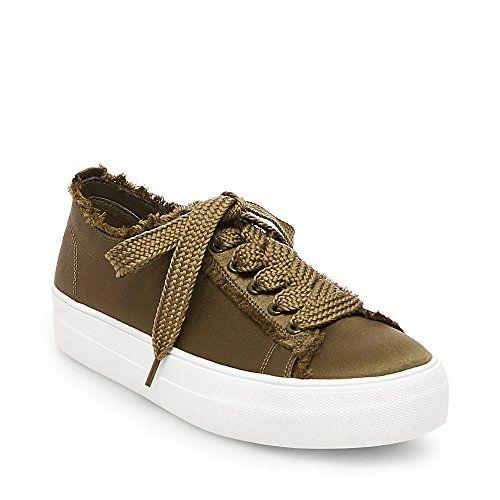 0495b002ea4 Steve Madden Women s Greyla Green Sneaker 6.5 US Steve Ma- 69.95 ...