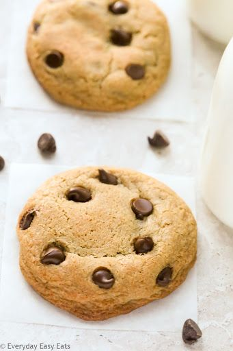 Soft-Baked Chocolate Chip Cookies Recipe | Yummly