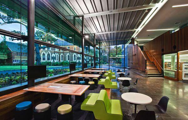 The lilley centre brisbane grammar school australia inspirational school library design for Interior design courses brisbane