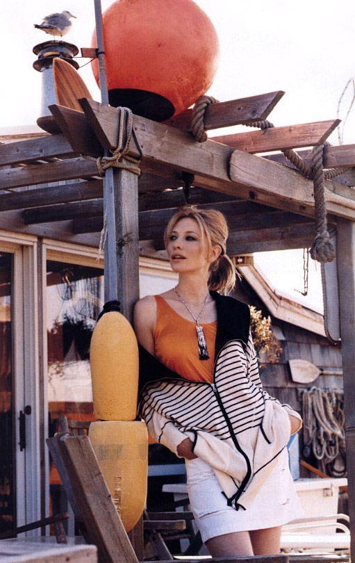 #CateBlanchett Cate Blanchett by Gilles Bensimon, 2003
