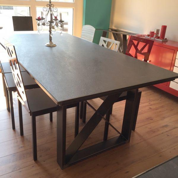 Table salle à manger ceramique | Tables salle à manger | Pinterest ...