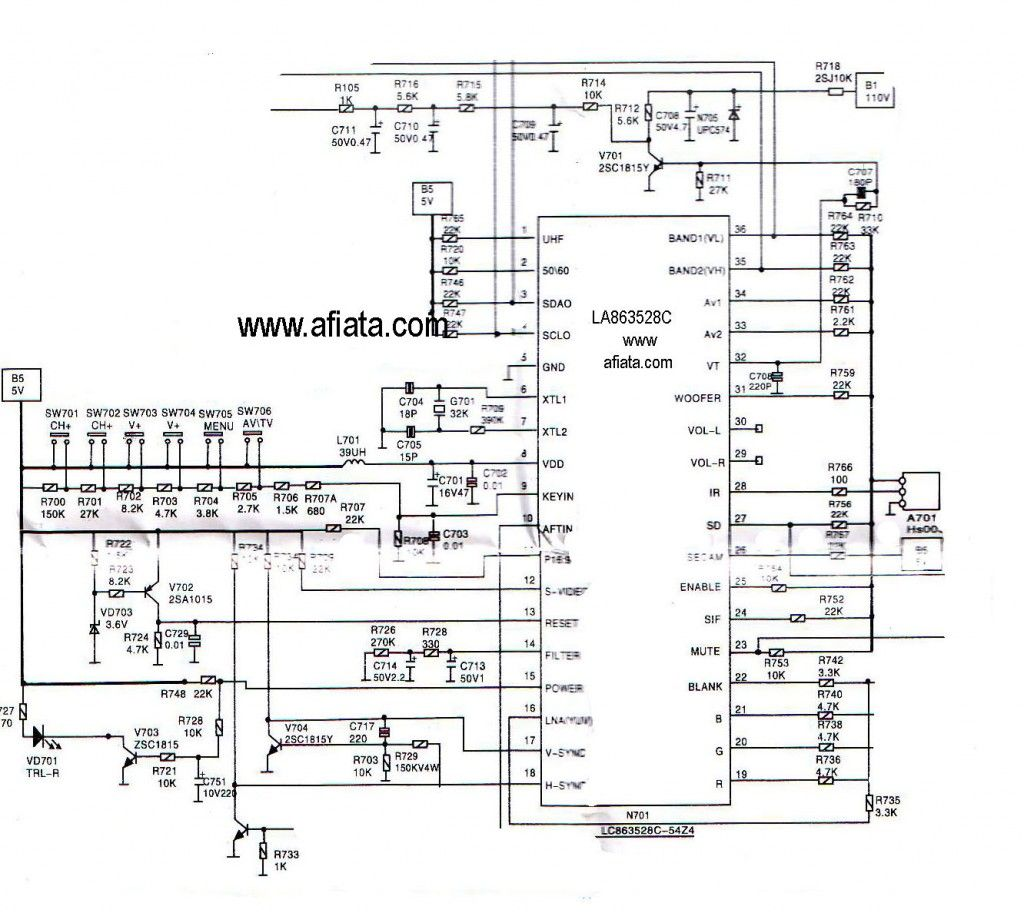 Sansui Tv Circuit Diagram Free Download