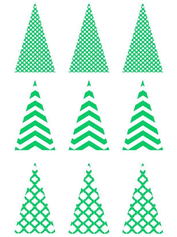 75 Printable And Free Christmas Templates Christmas Templates Free Christmas Tree Template Free Christmas Printables