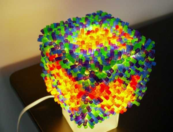 25 creative plastic recycling ideas turn plastic straws - Things made out of straws ...