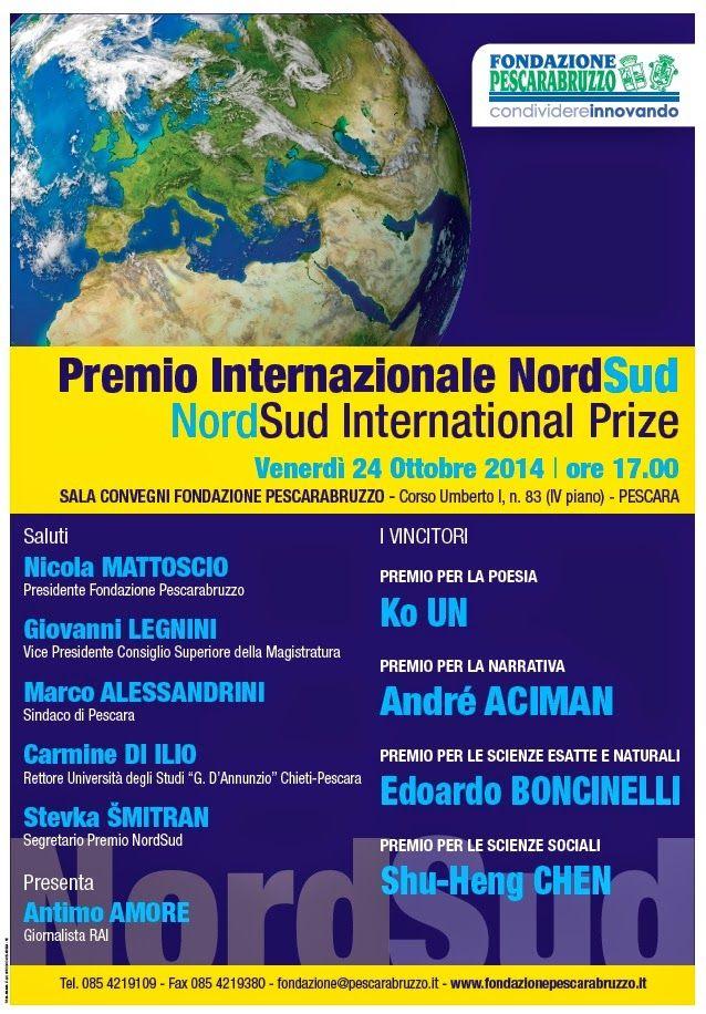 Edizioni Tracce: Premio Internazionale NordSud 2014