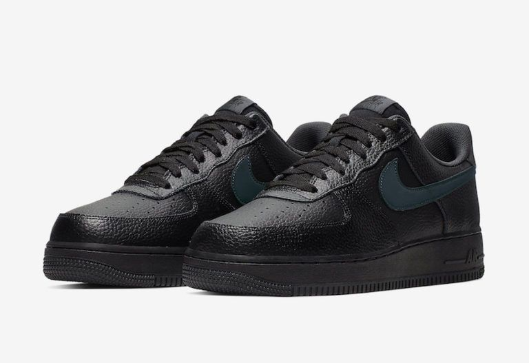A New Nike Air Force 1 Low Arriving In Black And Anthracite