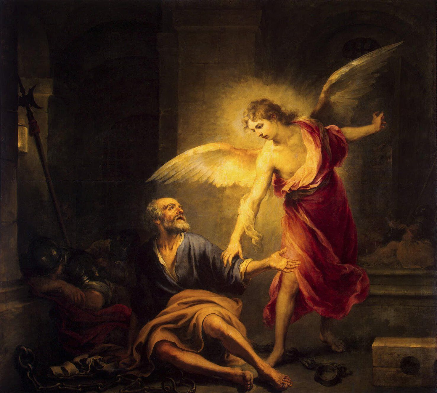 Angel Frees Peter From Prison