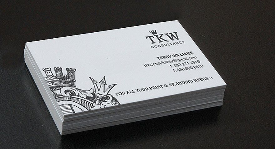 Crown Visiting Card  Design    Business Cards