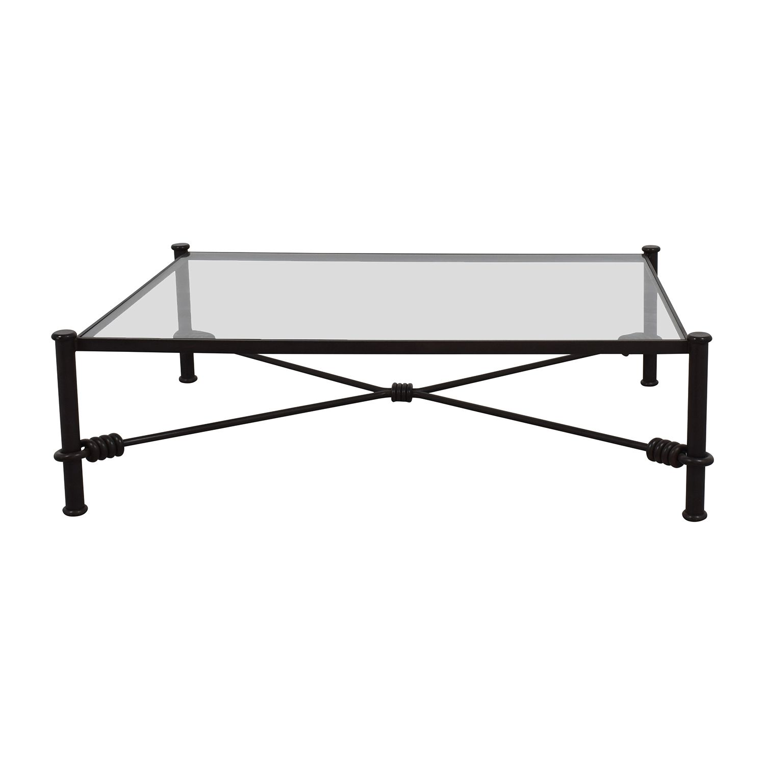 Best Black Wrought Iron Glass Coffee Table Iron Coffee Table 400 x 300