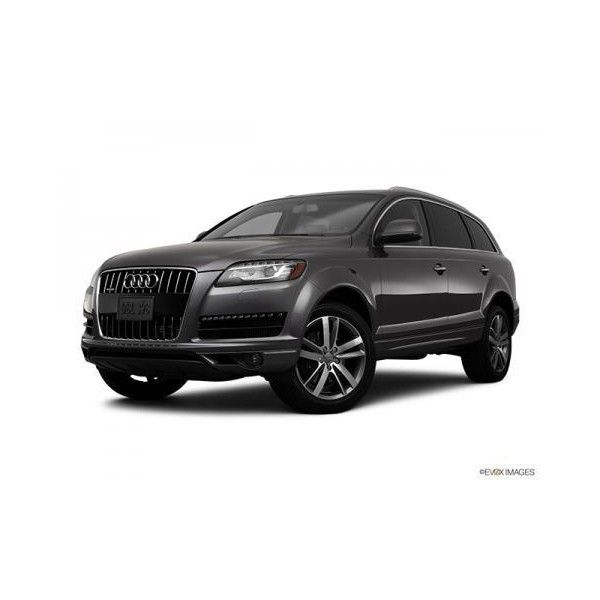 2011 Audi Q7 Photo Front Angle View 5 - Consumer Guide Automotive ❤ liked on Polyvore featuring cars