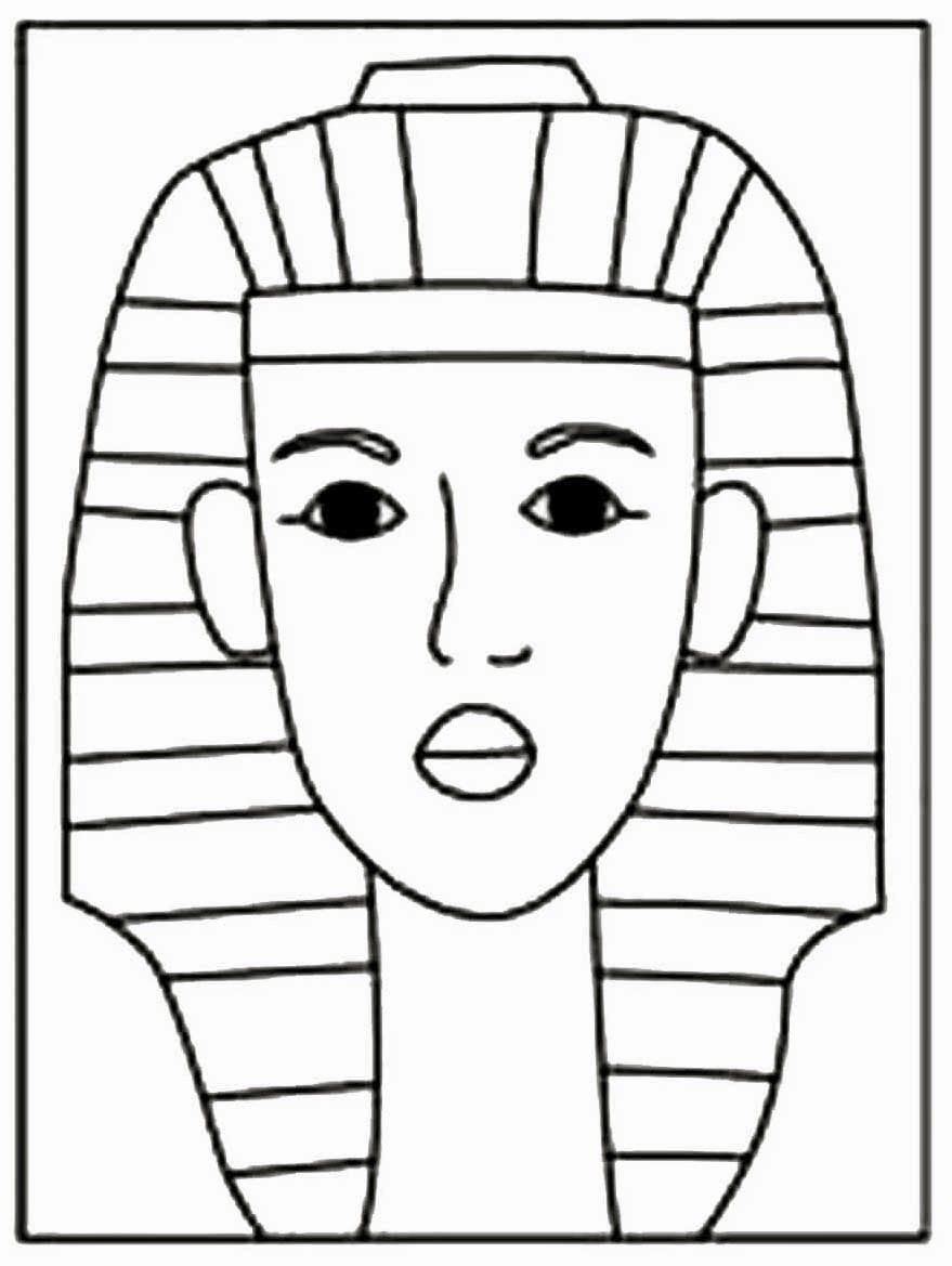 How To Draw King Tut | Pinterest