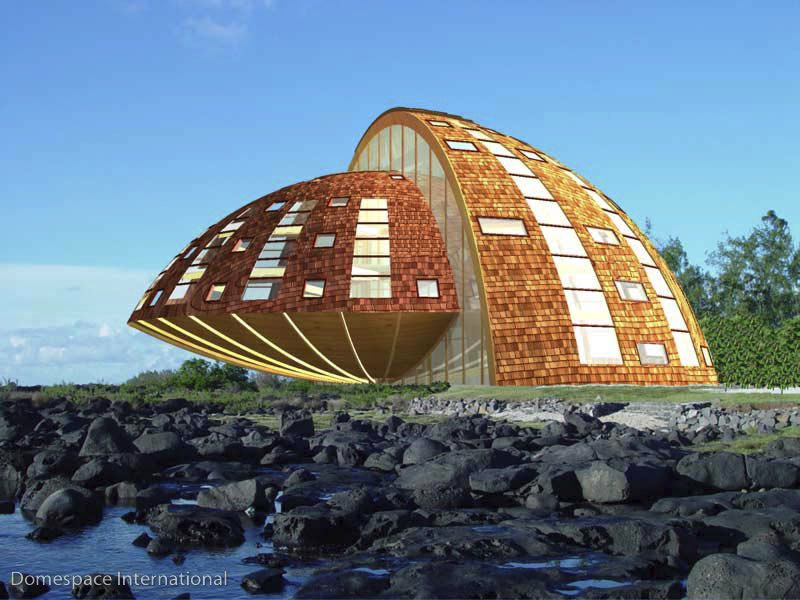 Edificio prefabricado / para vivienda comunitaria / de madera ...