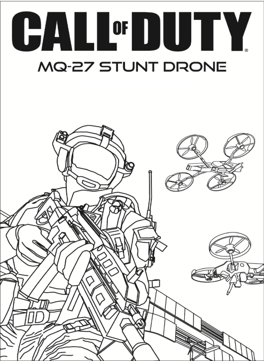 Call Of Duty And Drones Coloring Pages In 2020 Call Of Duty Coloring Pages Printable Coloring Pages