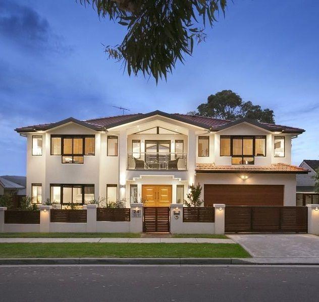 modern house facade maison pinterest. Black Bedroom Furniture Sets. Home Design Ideas