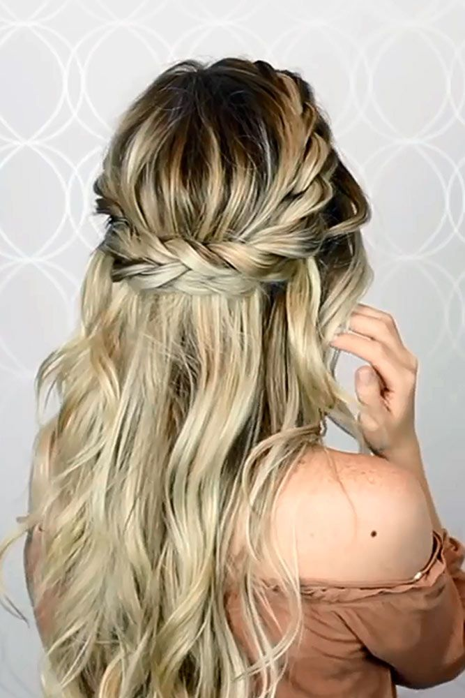 70 Crown Braid Styling Ideas Lovehairstyles Com Long Hair Styles Hair Styles Braid Crown Tutorial