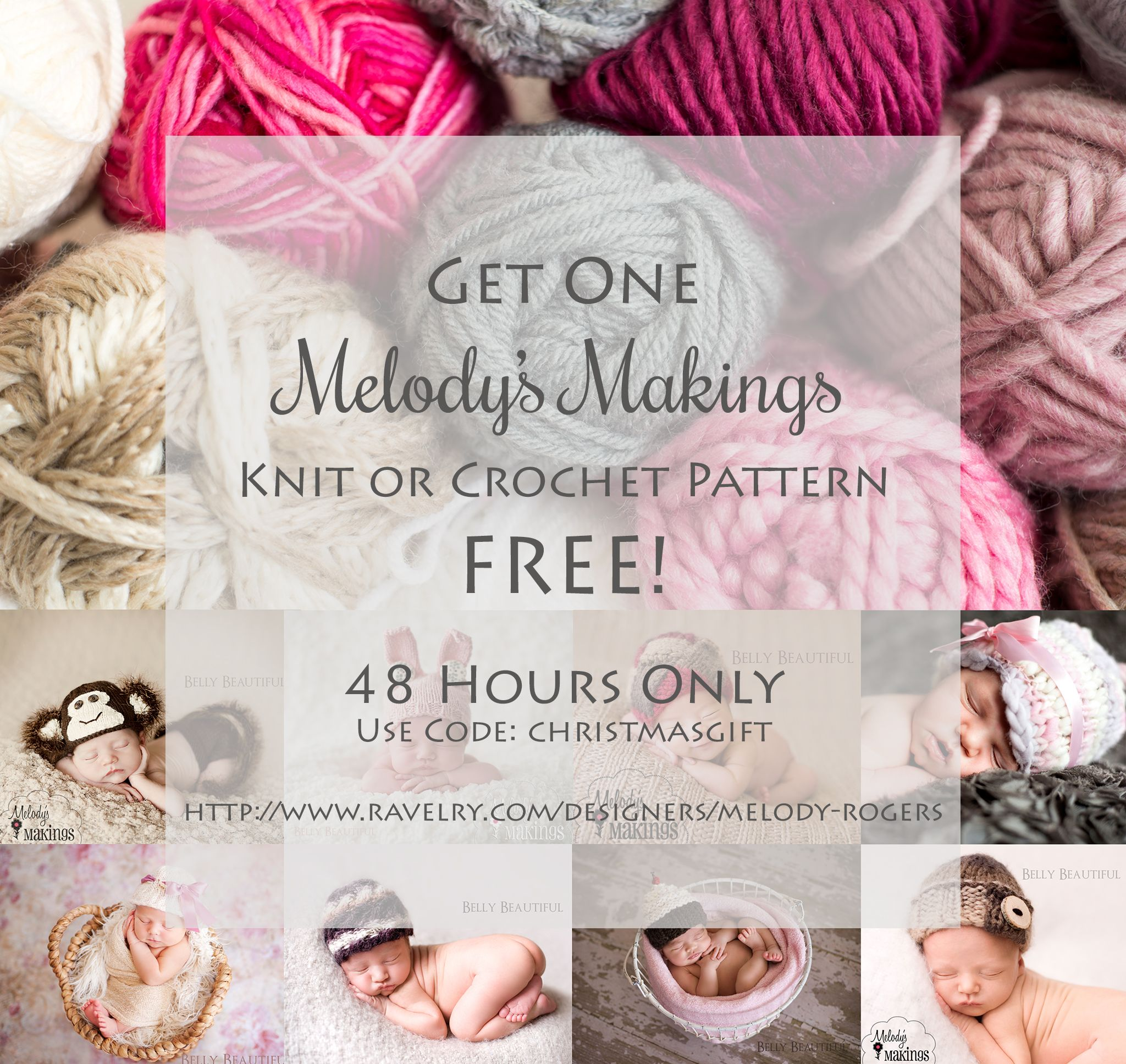 Merry Christmas….Get ANY One Pattern FREE! | Red Heart Yarn Free ...