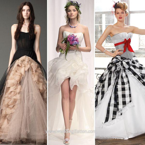 Fall Steampunk Themed Wedding Dresses To R Vera 2017 Jill Stuart Elishan