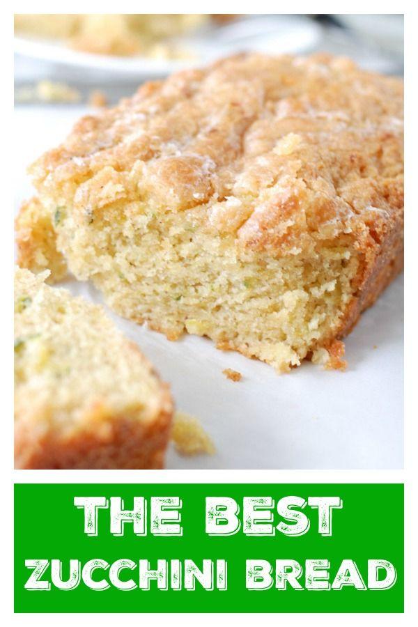 Sourdough Zucchini Bread Recipe