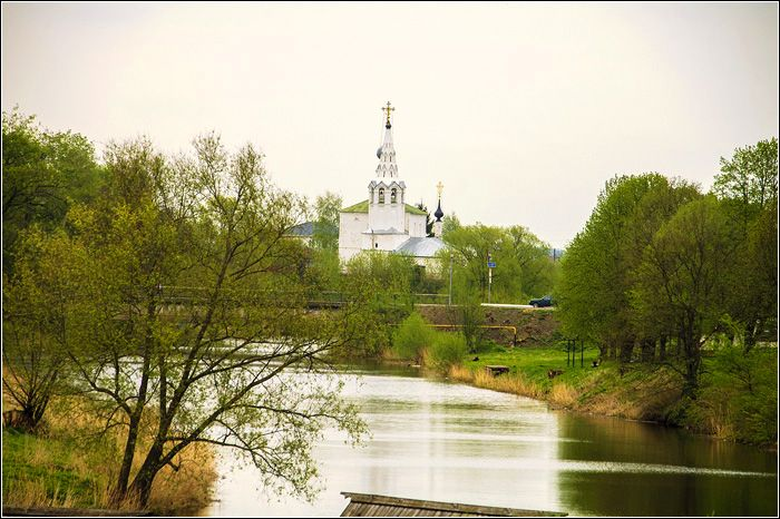 Cosmas and Damian Church was built in Suzdal. Photos Suzdal attractions