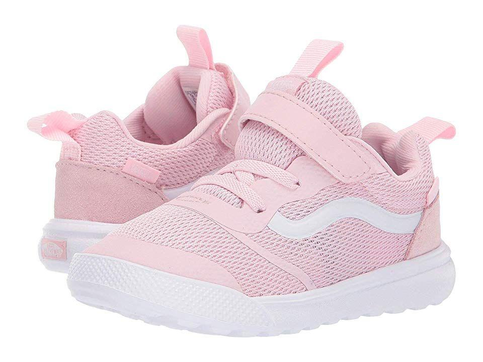 fbf20f2a9b14 Vans Kids UltraRange Rapidweld (Toddler) Girl s Shoes Chalk Pink True White