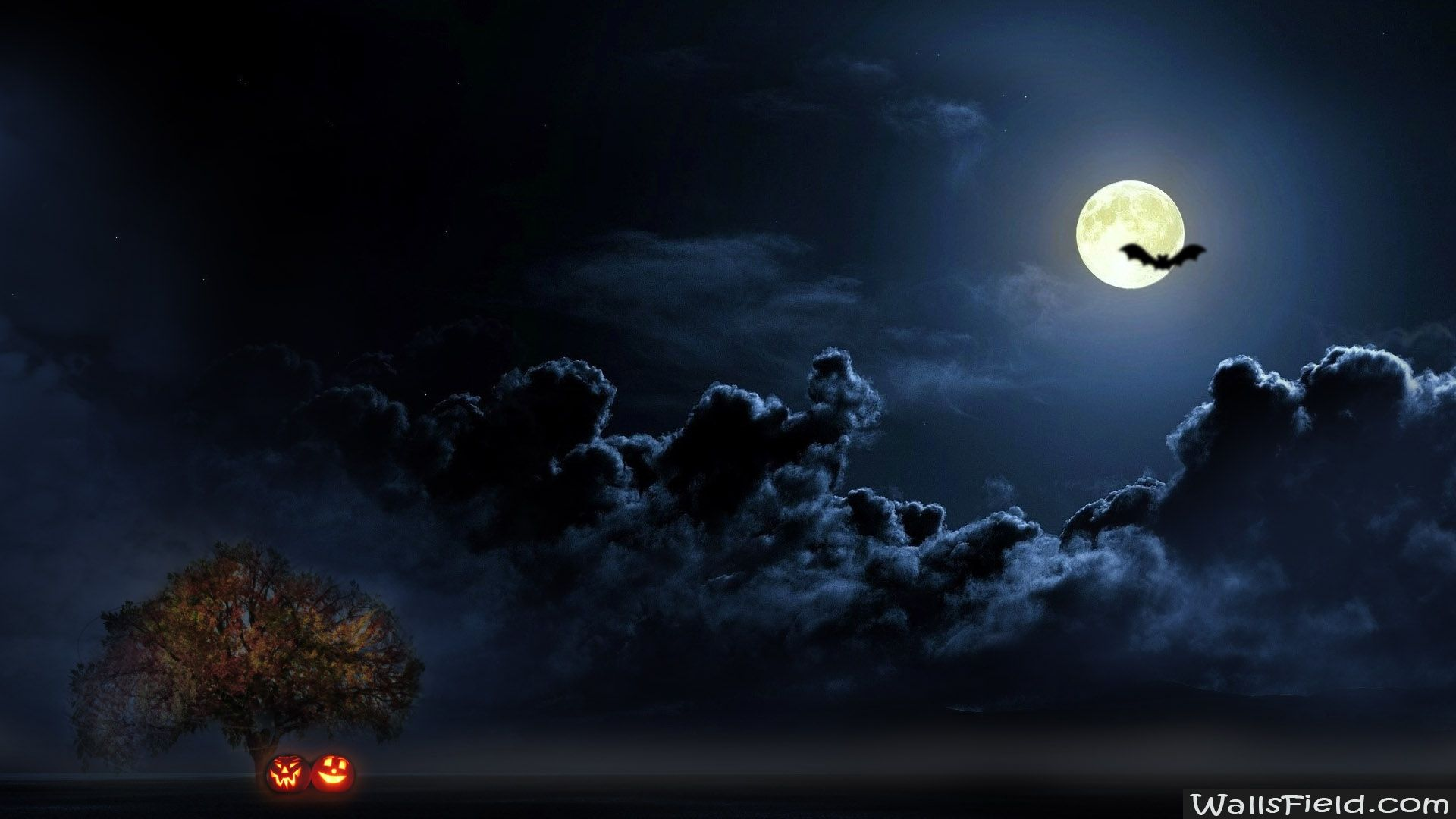 halloween moon wallpaper - photo #23
