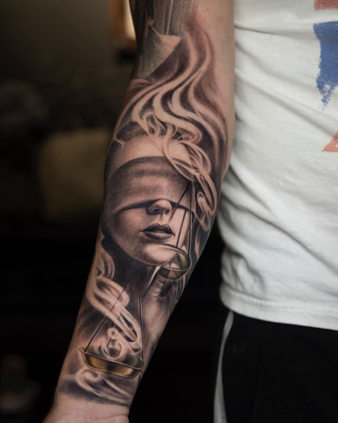 Tattoo Lady Justice: Jose Contreras (@joseecd) On