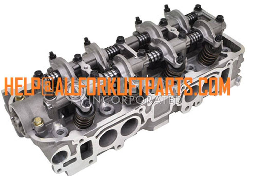 Complete Cylinder Head Mitsubishi Forklift Engine 4g64 Clark Caterpillar New Forklift Mitsubishi Engineering