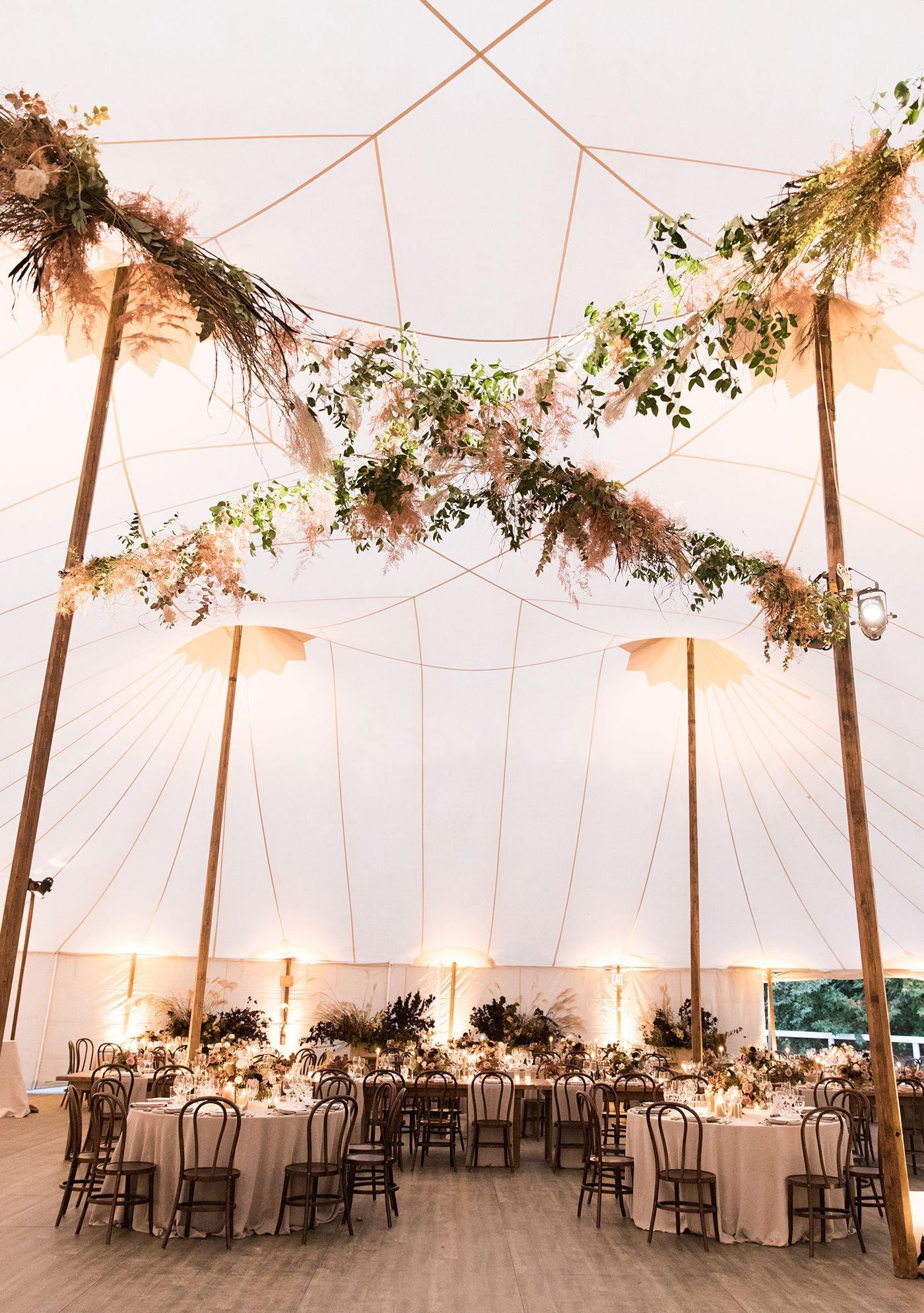 15 Magical Tent Decor Ideas For An Outdoor Wedding Green Wedding Shoes Outdoor Tent Wedding Tent Decorations Wedding Tent
