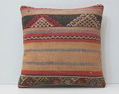 pastel pillow cover 18x18 colourful cushion kilim pillow oversized throw pillow DECOLIC throw cushion 45x45 body pillow cover coral 16076