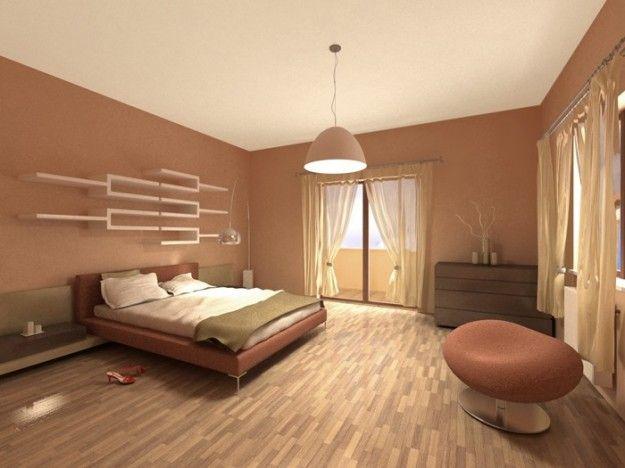 Pareti Rosa Salmone : Idee per le pareti della camera da letto casa