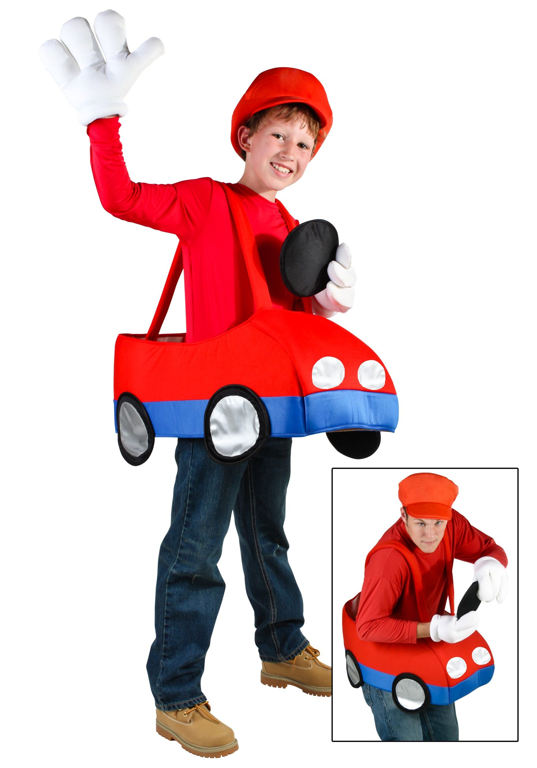 Video Game Car Costume | Car costume, Costumes and Boy halloween ...
