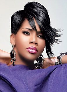 Look at Kelly Price. Loving the hair #asymmetrical #light ...