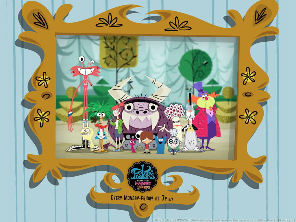 Foster S Home For Imaginary Friends Wallpaper Foster S Home For Imaginary Friends Foster Home For Imaginary Friends Imaginary Friend Friends Wallpaper