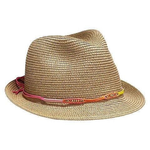 7145757ba8 Lilly Pulitzer for Target Women s Straw Fedora - how cute is this hat band