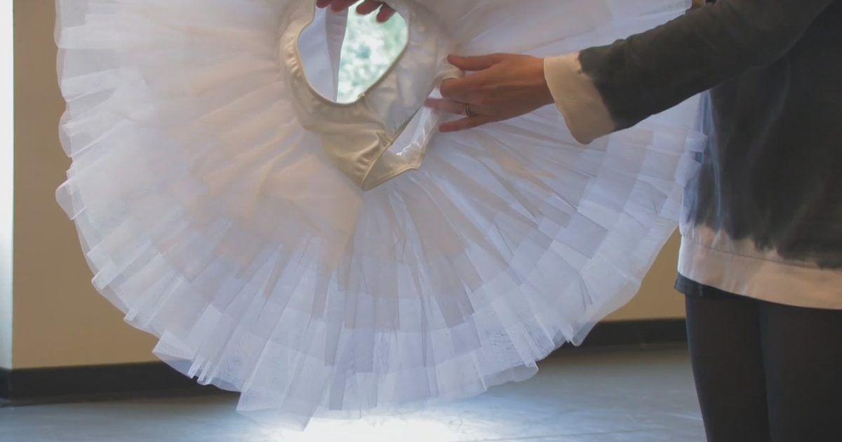 pin the tutu on the ballerina template - how to make a ballet tutu dance pinterest ballet