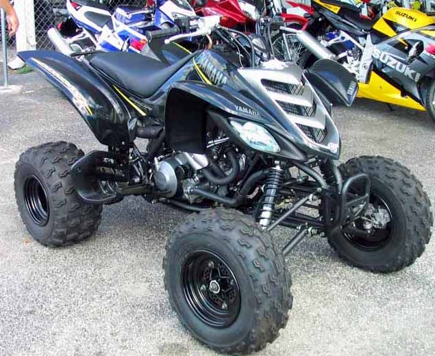 My Black Beauty Yamaha Raptor 660r Limited Edition Four Wheeler