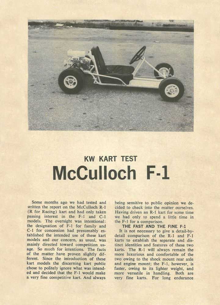 Mcculloch Go Kart Engine Parts | Engine Car Parts And Component