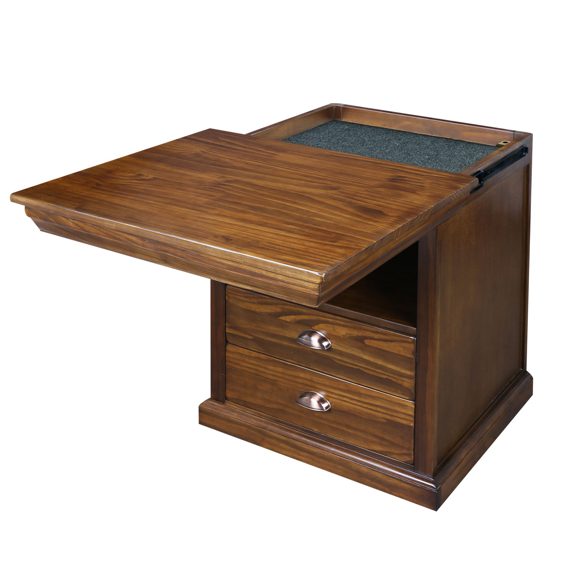 Lincoln Nightstand With Concealed Compartment Concealment