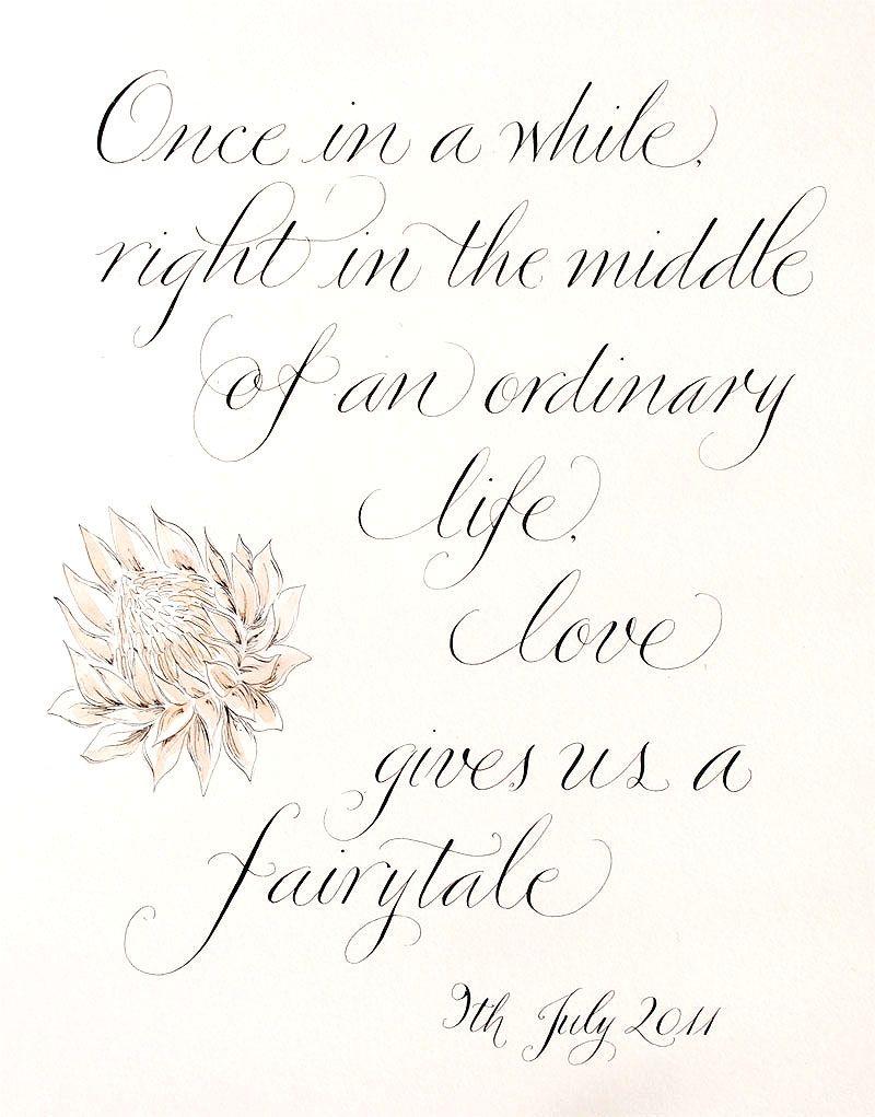 I\'m living my fairytale! Happy third anniversary b Mande ...