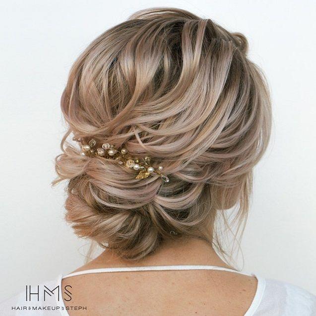 Romantic Wedding Hairstyles To Inspire You Elegant Updo Bridal