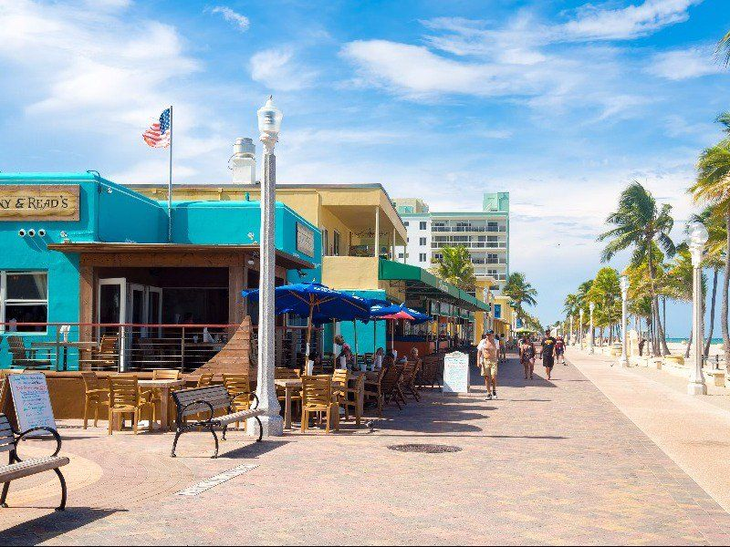 12 Of The Best Places To Visit In South Florida Tripstodiscover Cool Places To Visit Florida Vacation Hollywood Beach Boardwalk
