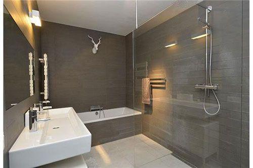 moderne badkamers - Google zoeken | Huisje | Pinterest | Bathroom ...